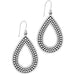 Pebble Open Teardrop Earrings