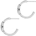 Alcazar Medley Post Hoop Earrings