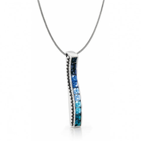 Blue Spectrum Necklace
