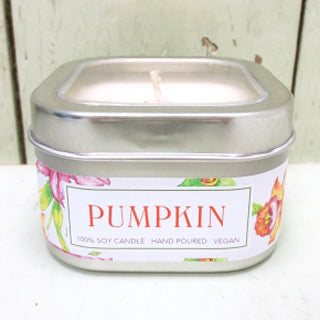 Green Daffodil Pumpkin Natural Vegan Soy Candle