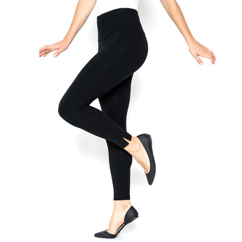 Lysse Black Cotton Skinny Legging