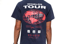 "Load image into Gallery viewer, ""Xplorer: Worlds Tour"" Relic-T by Gabe Gault"