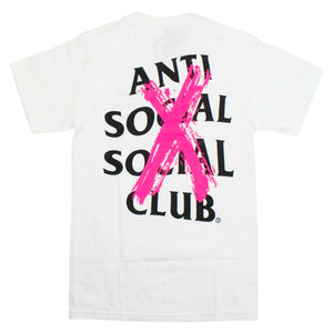 Anti Social Social Club Cancelled T-Shirt White