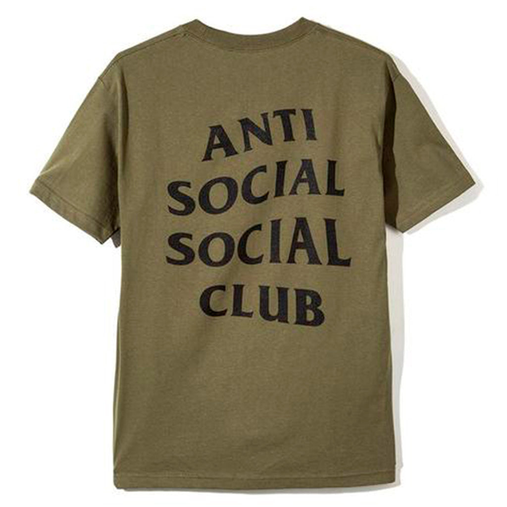 Anti Social Social Club Logo Tee Military Green