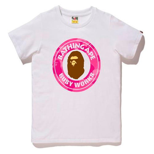BAPE ABC Busy Works Camo Pink/White