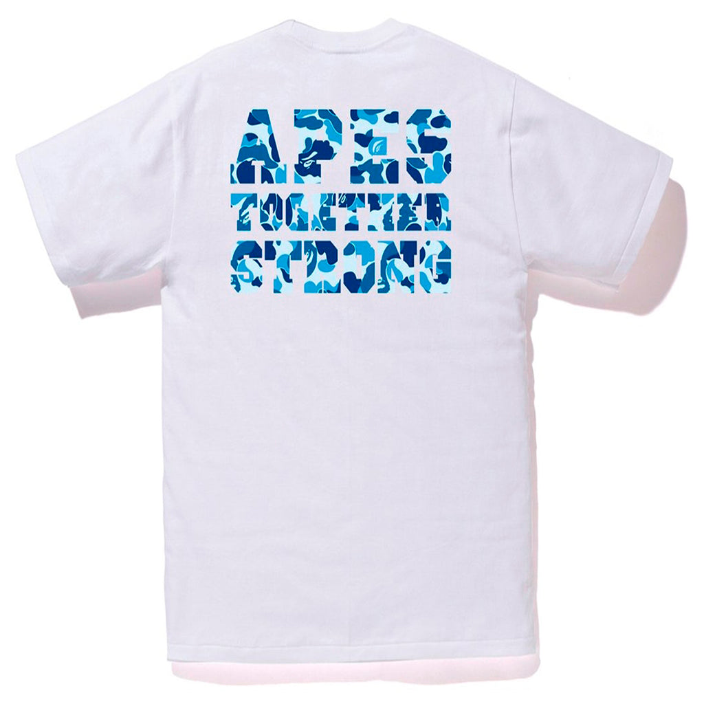 BAPE ABC College ATS Tee White