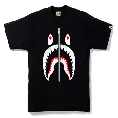 BAPE City Camo Shark Tee Black/Black