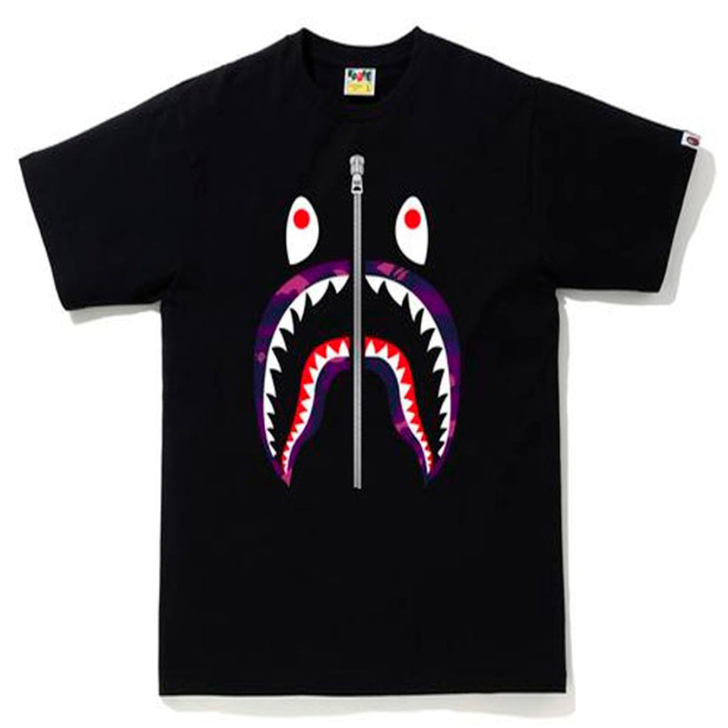 BAPE City Camo Shark Tee Purple