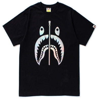 BAPE Hologram Shark Tee Black