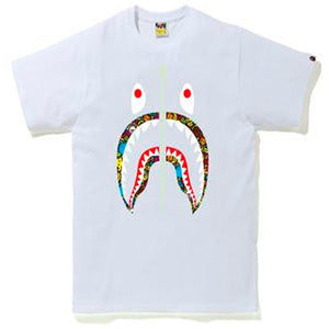 BAPE Milo Banana Pool Shark T-Shirt White
