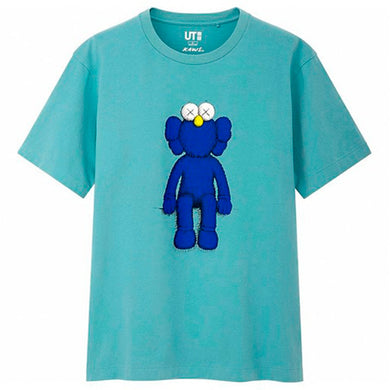 KAWS x Uniqlo Blue BFF Tee (US Sizing) Blue - Green