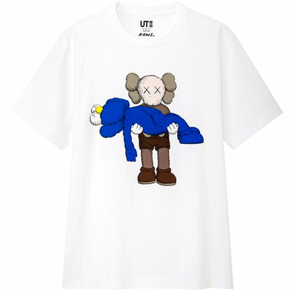 Kaws x Uniqlo Gone Tee White
