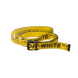 OFF-WHITE Industrial Belt Yellow