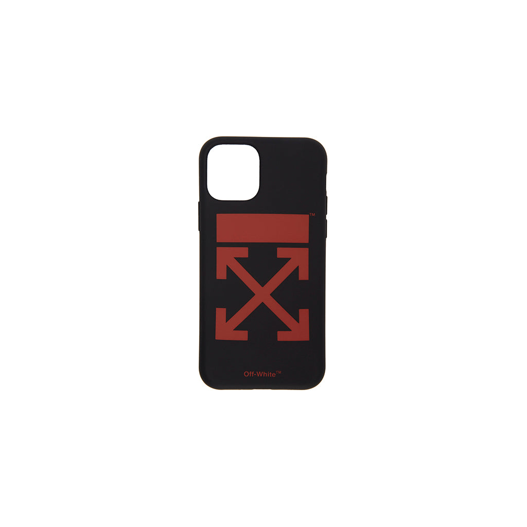 OFF-WHITE iPhone 11 Pro Case Arrows Red on Black