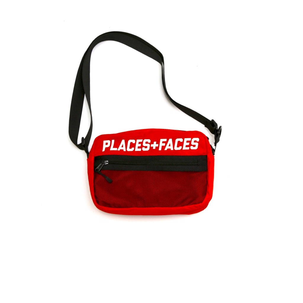 Places + Faces Shoulder Bag 2.0 Red