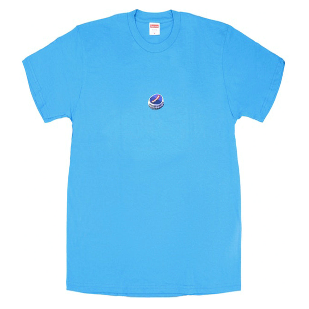 Supreme Bottle Cap Tee Bright Blue