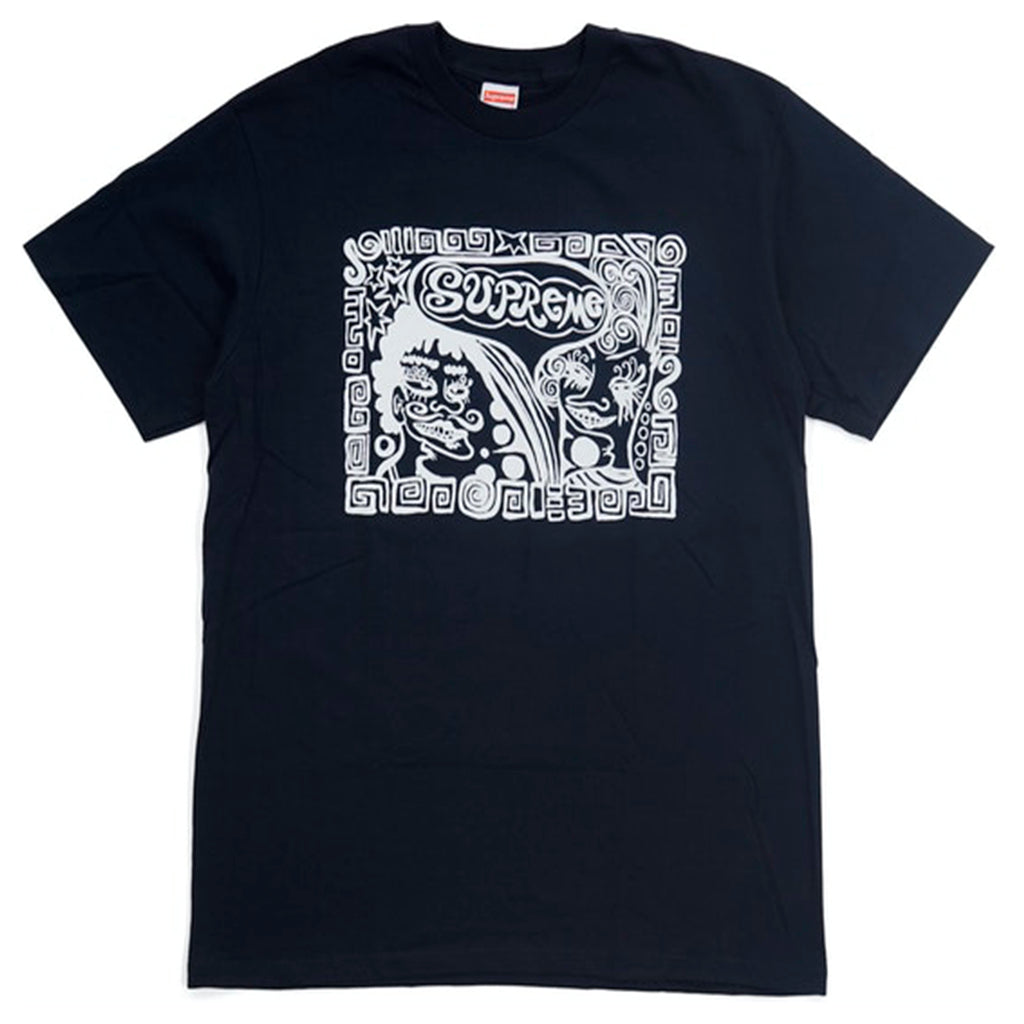Supreme Faces Tee Navy