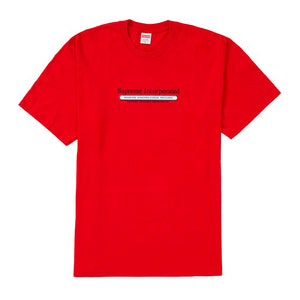 Supreme Inc. Tee Red