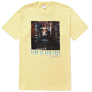 Supreme King of New-York Tee Pale Yellow
