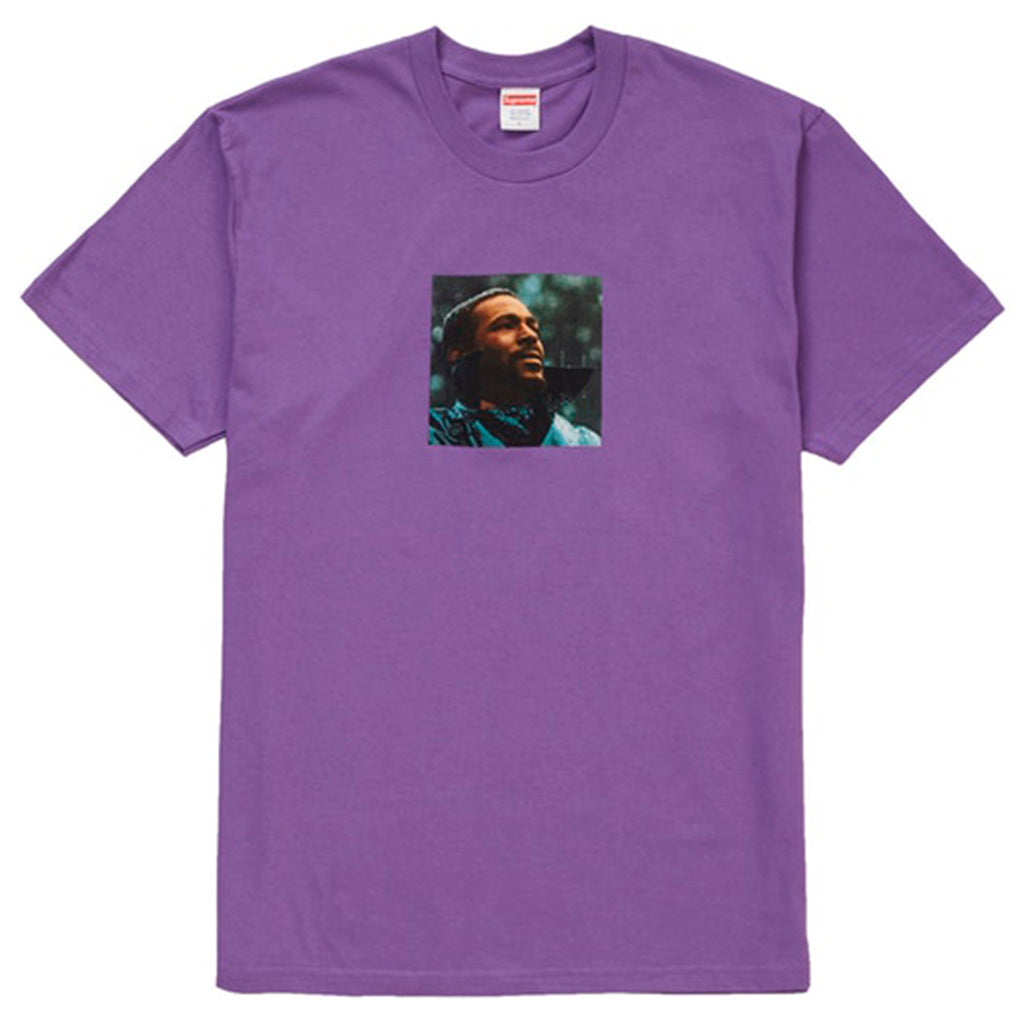 Supreme Marvin Gaye Tee Purple