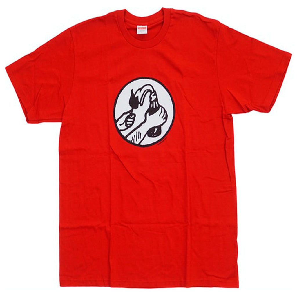 Supreme Molotov Tee Red