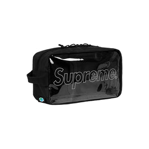 Supreme Outline Utility Bag Black Transparent