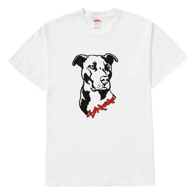 Supreme Pitbull Tee White