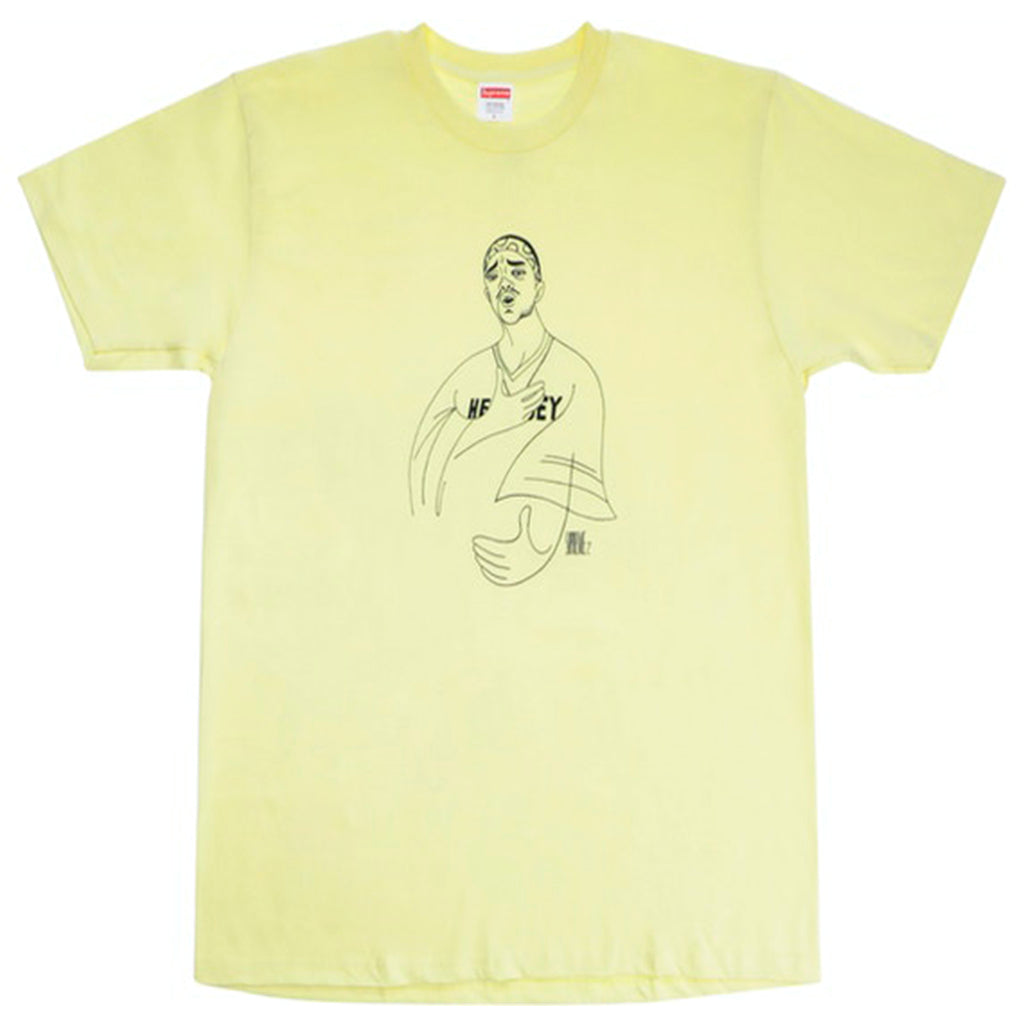 Supreme Prodigy Tee Pale Yellow