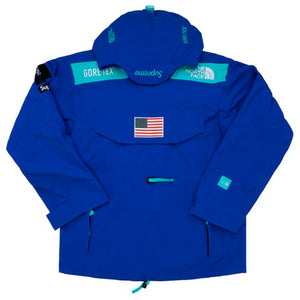Supreme x The North Face Trans Antarctica Expedition Pullover Jacket Royal
