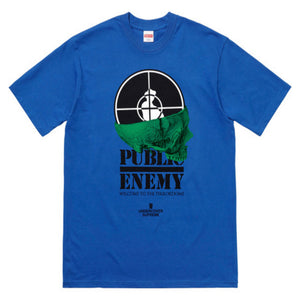 Supreme x Undercover Public Enemy Tee Blue