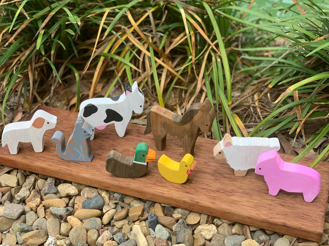Old MacDonald's Farm Animals (Set of 8)