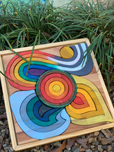 "Load image into Gallery viewer, ""THE FOUR ELEMENTS"" Large Wooden Puzzle"