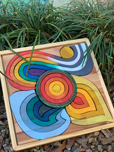 """THE FOUR ELEMENTS"" Large Wooden Puzzle"