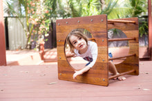 Load image into Gallery viewer, THE OUTDOOR CUBE- Pikler Cube w/Ramp and upgrade options