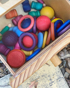 THE MEGA BOX- Loose Parts Sort, Store and Play Box (Special Introductory Price)