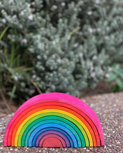 Load image into Gallery viewer, Large Stacking Rainbow