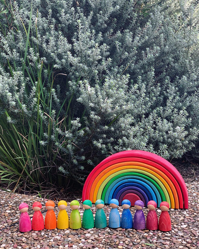 Rainbow Paddies (set of 12)
