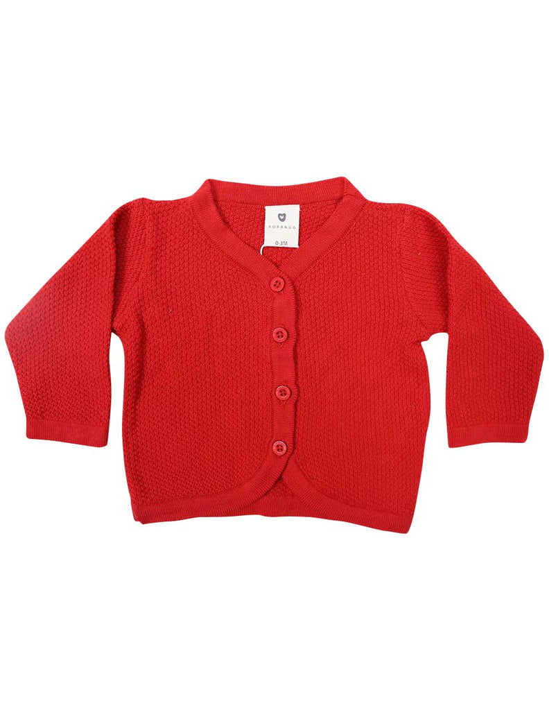 C1225R Cardigan-Cardigans/Jackets/Sweaters-Korango_Australia-Kids_Fashion-Children's_Wear