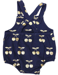 B1209N Cherry Sunsuit-All In Ones-Korango_Australia-Kids_Fashion-Children's_Wear
