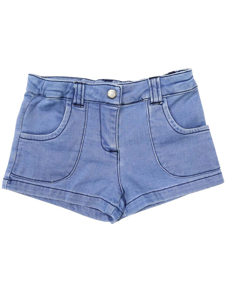 A1238L Denim Knit Short-Pants & Shorts-Korango_Australia-Kids_Fashion-Children's_Wear