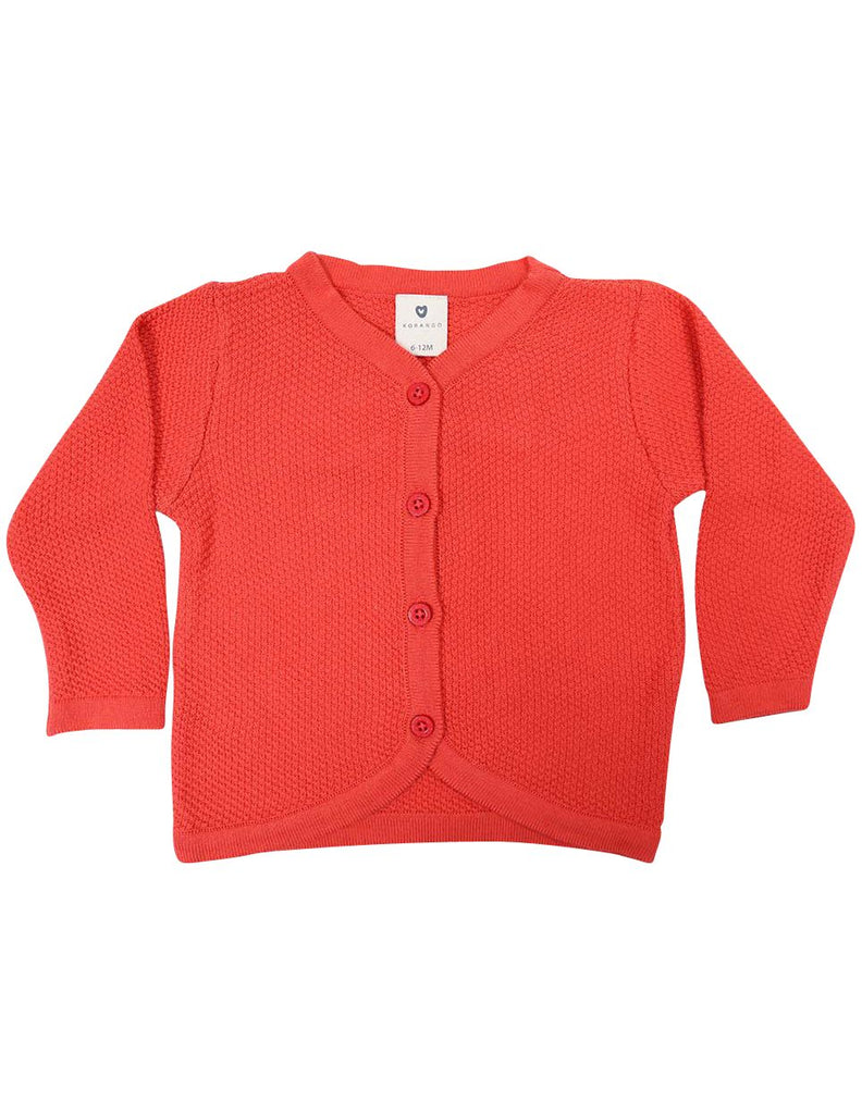 C1235P Cardigan-Cardigans/Jackets/Sweaters-Korango_Australia-Kids_Fashion-Children's_Wear