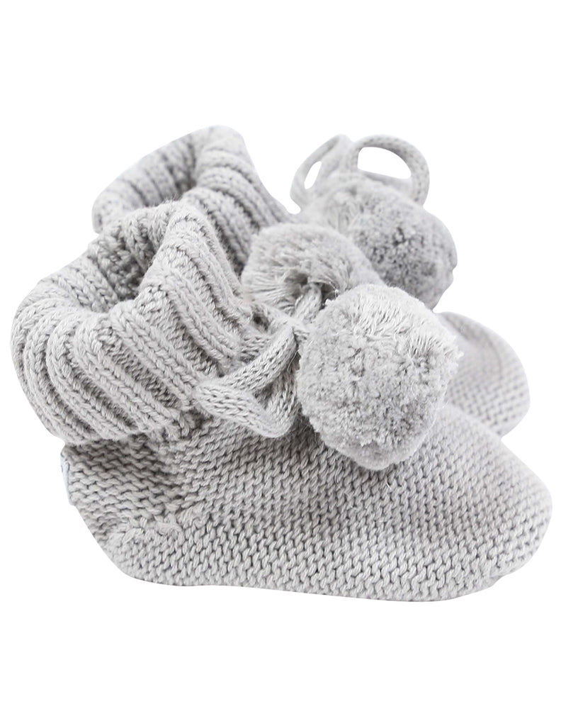 B1132 Booties Pom Pom Bootie-Accessories-Korango_Australia-Kids_Fashion-Children's_Wear