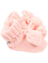 B1132P Booties Pom Pom Bootie-Accessories-Korango_Australia-Kids_Fashion-Children's_Wear