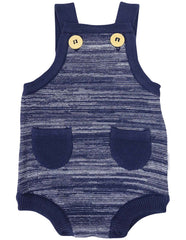 B1217N Knit Fleck Sunsuit-All In Ones-Korango_Australia-Kids_Fashion-Children's_Wear