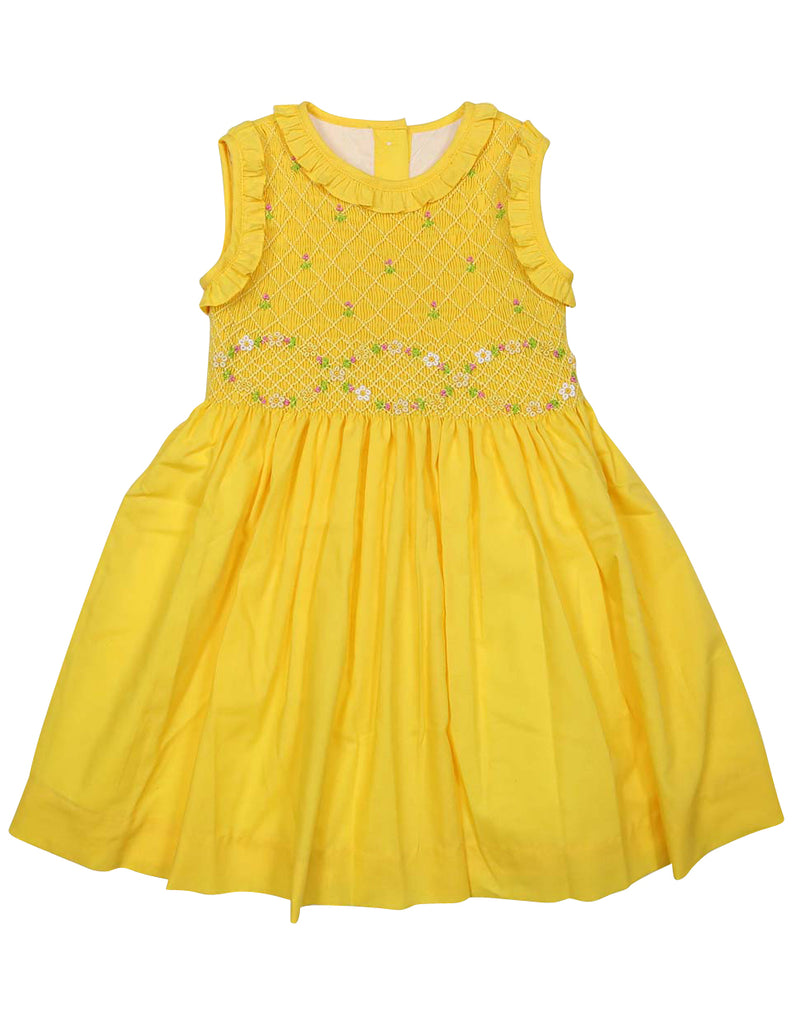 C1430Y Party Dresses Smocked Dress