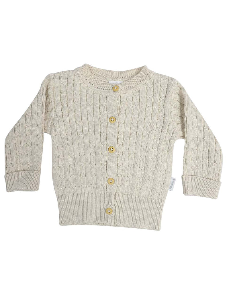 C13014B Classique Girl Cable Knit Cardigan