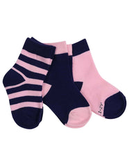 E1032P Essentials 3 Pack Socks