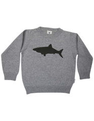A1220C Shark Sweater-Cardigans/Jackets/Sweaters-Korango_Australia-Kids_Fashion-Children's_Wear