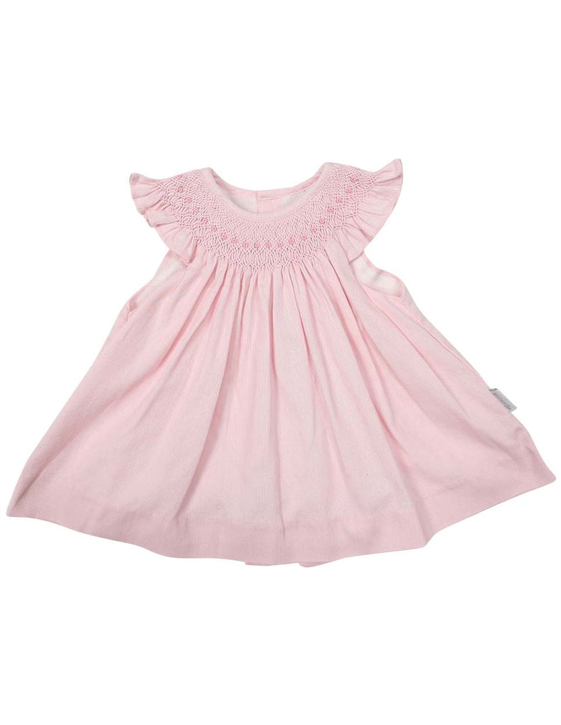 C1214P Raglan Cut Pique Dress-Dress-Korango_Australia-Kids_Fashion-Children's_Wear