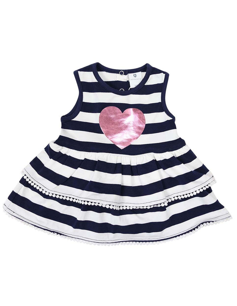 A1210N Heart Dress-Dress-Korango_Australia-Kids_Fashion-Children's_Wear
